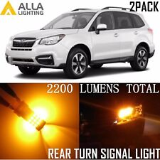 Alla Lighting Turn Signal Light 7440A Amber Yellow Blinker LED Bulb for Subaru