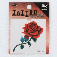 Rose Men and women tattoo paste waterproof contact mark tattoo stickers Art 1pc