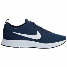 Nike Dualtone Racer Mens 918227-400 Midnight Navy Mesh Running Shoes Size 8.5
