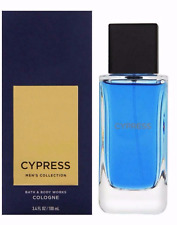 NIB 1 BATH & BODY WORKS CYPRESS FOR MEN COLOGNE SPRAY MEN'S FRAGRANCE 3.4 FL OZ