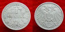 Germany / Empire - 1 Mark 1896 J ~ silver
