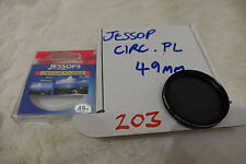Jessops jessop 49mm circular Polariser Filter cir pola PL Cleaned and checked