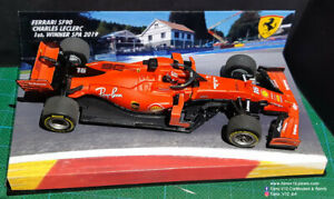 F1 Ferrari SF90 1st winner C. Leclerc Belgium GP Spa 1:43 n/ minichamps n/ spark