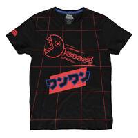 NINTENDO Super Mario Bros. Neon Japanese Chain Chomp Grid All-over Print T-Shirt