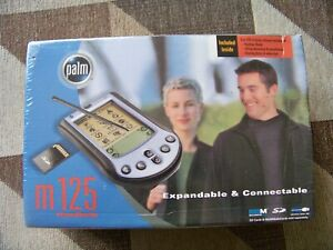 NEW SEALED Palm M125 Handheld Expandable & Connectable PDA 340-3371A-US FAST SHP