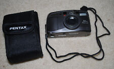 Pentax EZY-80 Camera IQZoom Film Photography Cameras with Case