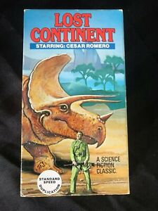Lost Continent 1951 VHS RARE