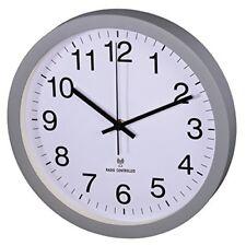 Hama 00136219 Horloge murale Radio-commandée Gris