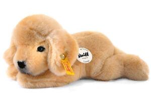 Steiff 'Lumpi' Golden Retriever - soft toy plush washable puppy dog - 280160