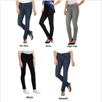 NWT! CALVIN KLEIN WOMEN'S POWER STRETCH ULTIMATE SKINNY JEANS Size&Color Variety
