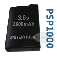 new 3600mAh 3.6V Rechargeable Battery Pack for Sony PSP 1000 1001 Console