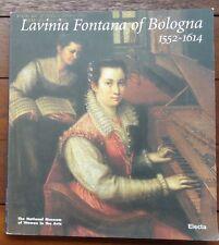 Lavinia Fontana of Bologna 1552-1614 Vera Fortunati Art Catalogue Women in Arts
