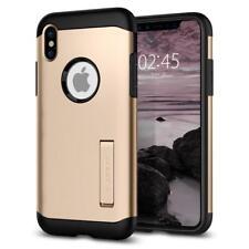 Spigen iPhone X Case Slim Armor Champagne Gold