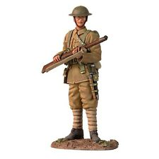 W Britain 23074 British Infantry Standing On Watch WWI 1/30 Scale Toy Soldier