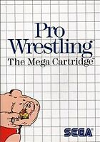 Pro Wrestling  game for  the  Sega Master system CASE AND GAME ONLY