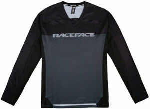 RaceFace Diffuse Long Sleeve Jersey - Gray, Men's, X-Large