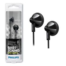 Philips SHE2100BN Bass Sound In-Ear Headphones SHE2100 Black