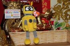 "TY BEANIE BABY PLEX THE ROBOT YO GABBA GABBA-7""-2012-MWNMT-NICE GIFT"