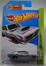 Hot Wheels 2015 Heat Fleet Series - '68 Hemi Barracuda - Silver # 213/250