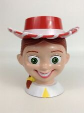 "Disney On Ice Toy Story 2 Jessie Cowgirl 5 1/2"" Tall Plastic Mug Cup w/ Lid"