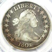 1805/4 Draped Bust Half Dollar 50C O-102 - PCGS VG Detail - Rare Overdate Coin!