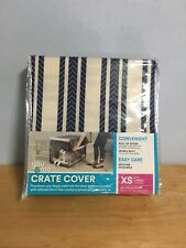 You & Me Crate Cover XS 19x12.5x14 Dark Gray