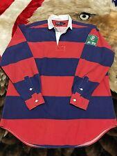 Rare VTG 90s Polo Ralph Lauren CPRL 93 1993 Rugby Shirt L Stadium 92 1992 Jacket