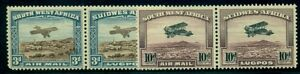 SOUTH WEST AFRICA #C5-6 Complete set, Airmails, unused no gum, VF, Scott $125.00