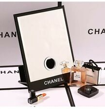 CHANEL VIP GIFT X LARGE RECTANGULAR MAKE UP VANITY MIRROR/TISSUE HOLDER VIP RARE