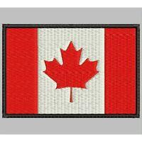 Parche Bordado Bandera de CANADA / Embroidery patch Flag of CANADA.