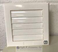 Braun Air Lüftungsgitter Ventilation Abdeckung Louvre Grid 6 8 10 12