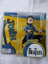 THE BEATLES JOHN LENNON  Figure Mcfarlane Toys NEW 2004 SEALED
