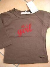 """(186) Imps & Elfs Baby Langarm Shirt + """"It´s a Girl"""" Druck & Logo Aufnäher gr.92"""