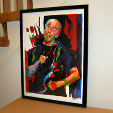 George Carlin Seven Dirty Words Comedian Celebrities Poster Print Wall Art 18x24