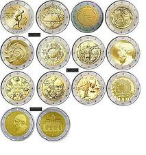 GREECE  GRECE GRECIA GRIECHENLAND  COMPLETE 2  EURO  GREEK COIN  COLLECTION  UNC