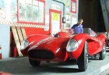 1958 Ferrari Testa Rosa Danbury Mint + 1963 Ferrari LM 1/24 diecast + BIN bonus