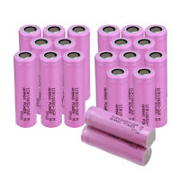 4/8/12~20pc ICR 18650 2600mAH 3.7V Li-ion Rechargeable Flat Top Lithium Battery