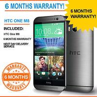 HTC One M8 - 16 GB - GunMetal Grey (Unlocked) Smartphone