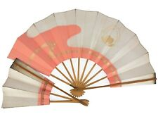 Vintage Japanese Odori Wakayagi Dance School 'Maiogi' Folding Fan Set: May20-R