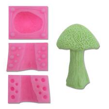 3D Mushroom Silicone Cake Fondant Sugarcraft Mold Chocolate Baking Soap Mould