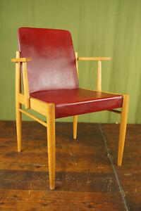 60s Vintage Chair Danish Armchair Retro Dining Room Desk 60er