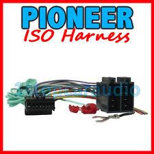 PIONEER ISO WIRING HARNESS ~ AVH-P3250DVD AVH-P4250DVD AVH-P4350DVD MVH-8250BT