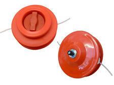 BRUSHCUTTER, STRIMMER ORANGE  2 LINE HEAD including adaptor bolt