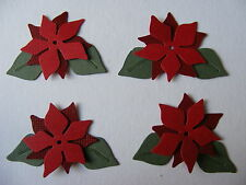 Poinsettia Easter Flower Christmas 'Noche Buena' Decoration Garden Die Cuts