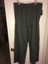 Nwt Spalding Mens Size 3Xlb Dark Gray Sweat Pants W/Pockets&Hidden Drawstring