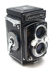 Yashica-Mat 6x6 TLR Camera - 80mm F3.5 Yashinon Lens - UK Dealer