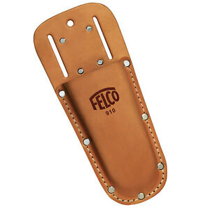 Felco secateurs leather holster model 910 - Loop and pocket clip