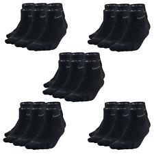 15 Paar NIKE Dri-FIT NoShow Sneaker Socken schwarz 46-50 (XL) 15er Pack Low Cut