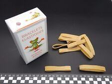 Elastique Caoutchouc- Blond- 70(Ø45)mm x 10mm- boite de 100g