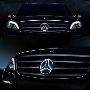 Car Led Front Grille Star Emblem Lights For Mercedes Benz 2006-2013 Illuminated
